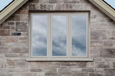 Triple Casement Combination in Pebble #window