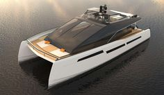 ML Power 85 by Marc Lombard Architecture Navale - short listed for the Concept Design up to 30 metres Award in the International Yacht and Aviation Awards 2013...