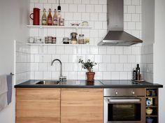 Scandinavian interior design, small spaces