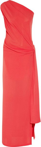 Oneshoulder Silkcrepe Gown - Lyst