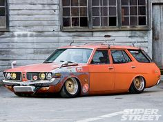 73 Toyota Mark II Wagon Grunge!                                                                                                                                                                                 More