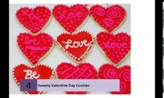 Sweety Valentine Day Cookies