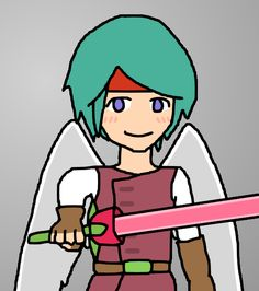 Angel Hero And Rose Sword / #Boy #Weapon