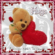 Free online Hugs And Love ecards on Love Hugs And Kisses Quotes, Hug Quotes, Sweet Quotes, I Love You Ecards, Baby Bear Tattoo, Good Morning Smiley, Good Night Hug, Hug Images, Teddy Bear Hug