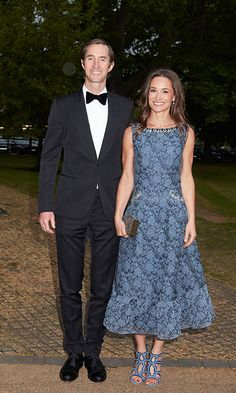 A photo of Pippa Middleton and James Matthews