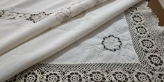 Shades Of Beige, Color Shades, Point Lace, Lace Doilies, Satin Stitch, Tablecloths, Light Beige, Delicate