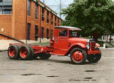 Vintage Tractors, Vintage Trucks, Mack Trucks, Semi Trucks, Cool Trucks, Big Trucks, Freight Truck, Car Camper, Heavy Duty Trucks