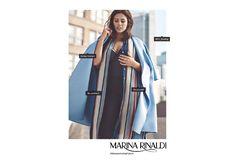 #womenarethefuture Ashley Graham for Marina Rinaldi SS17 campaign