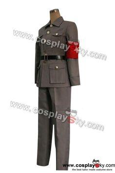Axis Powers Hetalia China Cosplay Uniform Costume version 2