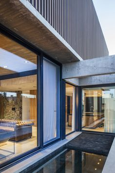 Gallery of Sukkha House / OON Architecture - 24 Architecture Photo, Residential Architecture, Board Formed Concrete, Internal Courtyard, House Built, Gated Community, Interiores Design, Ground Floor, Interior And Exterior