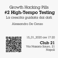 Come si può fare a rendere prevedibile la crescita di un business? ↗  Trasformandola in un processo basato sui dati: l'High-Tempo Testing. 🔬  Dopo il primo incontro sul #ProductMarketFit tenuto da @noemitaccarelli a dicembre, ci vediamo Mercoledì  prossimo, il 15 Gennaio, a Napoli, al @club21_official, subito prima della 60^ edizione di @nastartup per il 2° appuntamento con le #GrowthHackingPills di _blank  Ti aspetto! 😉 (Trovi il link in bio per avere il tuo biglietto gratis)… Words, Instagram, Dative Case, Horse