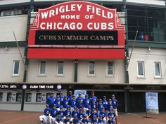 Chicago #Cubs Summer Camps