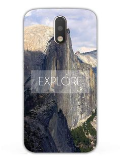 Explore - Designer Mobile Phone Case Cover for Moto G4 Plus