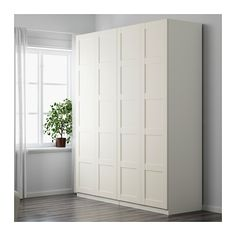 Ikea PAX Gardrób (Bergsbo ajtókkal)  200x60x236 cm - 112.300 Ft