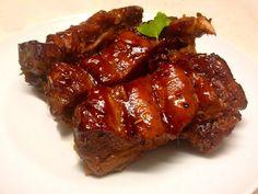 Spicy Honey Sticky Pork Ribs - Veprova zebra v pikantni medove marinade - www. Soy Sauce Alternative, Sweet And Spicy Sauce, How To Press Tofu, Extra Firm Tofu, Vegan Main Dishes, Test Kitchen, Food Dishes, Vegan Recipes, Imagination Station