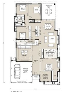 Home house plans on pinterest perth new homes and for 3 way bathroom designs