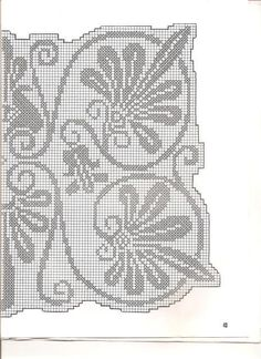 napperon rectangulaire avec feuilles (2)