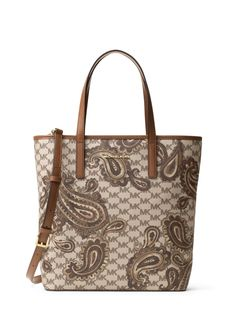 9b17fc0b8a6918 MICHAEL Michael Kors Emry Medium Heritage Paisley Tote Luggage *** Thanks  for seeing our image. (This is an affiliate link)