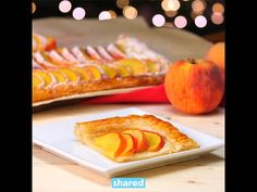 This Peach Tart Is So Simple with Just a Few Ingredients - Shared