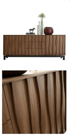 porada Masai Sideboard | www.bocadolobo.com #bocadolobo #luxuryfurniture #exclusivedesign #interiodesign #designideas #modernsideboard #sideboardideas #sideboard