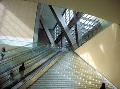 Shape: Interior of the Hearst Tower located in New York City, NY