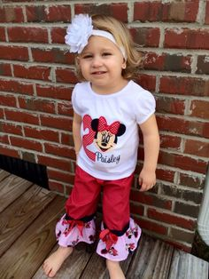 A personal favorite from my Etsy shop https://www.etsy.com/listing/203208966/minnie-mouse-birthdayoutfit-disney-world