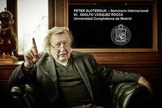 PETER SLOTERDIJK: EXPERIMENTOS CON UNO MISMO, ENSAYOS DE INTOXICACIÓN VOLUNTARIA Y CONSTITUCIÓN PSICO-INMUNITARIA DE LA NATURALEZA HUMANA. POR ADOLFO VASQUEZ ROCCA Peter Sloterdijk, Htm, Portrait, Fictional Characters, Socialism, Human Nature, Social Science, Essayist, Writers