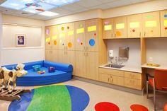 Children's Therapeutic Playroom, Renown Children's Hospital, Reno, NV.