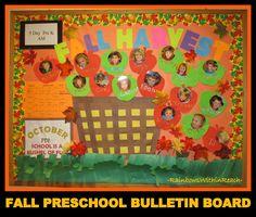 Image detail for -Preschool Bushel of Apples Bulletin Board with Photos of Children
