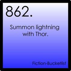 Fictional bucket list#862: Thor