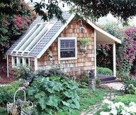 potting shed/greenhouse.  darling...