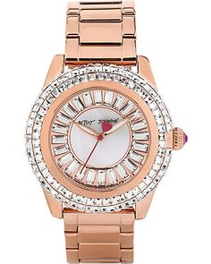 MINI BAGUETTES ROSE GOLD WATCH ROSE GOLD accessories jewelry watches fashion