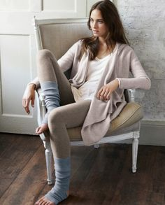 Image of Pure cashmere leg warmers