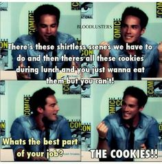 The only thing of Tyler I will pin because cookies are awesome