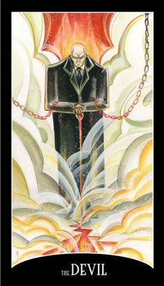4743e8bb25150 The Devil - DC Comics Justice League Tarot