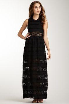 Charlotte Ronson  Maxi Dress with Mini Lining