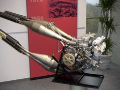 Honda V4 Water Cooled Moto GP Engine - Honda Collection Hall