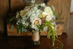 Gorgeous rustic Bouquet by Anthomanic Jordan & Lauren | Riddick House at Stevenson Ridge Wedding » Carley Rehberg Photography