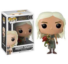 Funko - Figurine Game Of Thrones - Daenerys Targaryen Pop 10cm