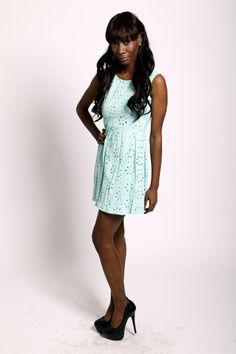 Larole - LAROLE CUTE MINT DRESS , $60.50 (http://www.larole.com/cute-mint-dress/)