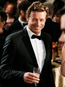 Simon Baker-and you can dress him up and oh how good he looks