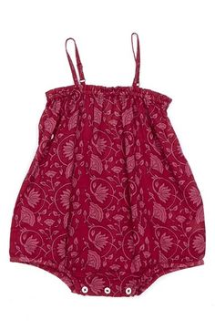 Peek 'Riviera' Woven Cotton Romper (Baby Girls) available at #Nordstrom