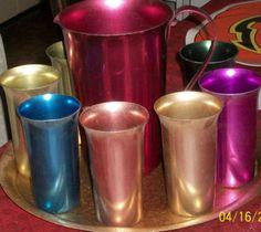 aluminum pitcher /tumblers
