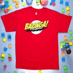 The Big Bang Theory 'Bazinga!' T-Shirt