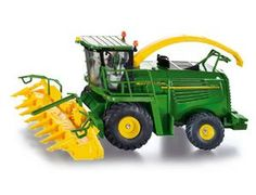 The 1/32 John Deere Forage Harvester from the Siku Farmer Series - Discounts on all Siku Diecast Models at Wonderland Models. One of our favourite models in the Siku Farmer Series Combine Harvesters range is the Siku John Deere Forage Harvester. Siku manufacture wonderful, amazingly accurate and detailed diecast models of all sorts of vehicles, particularly farm vehicles including this John Deere Forage Harvester which can be complemented by any of the items in the Farmer Series range.
