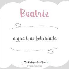 Significado Nome Beatriz