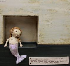 kina crow - I'm just in love with her clay and mixed media sculptures. They make me happy