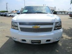 2013 Chevrolet Suburban LTZ1500 4x2 LTZ 1500 4dr SUV SUV 4 Doors Summit White for sale in Houston, TX Source: http://www.usedcarsgroup.com/new-chevrolet-for-sale