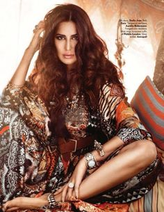 Katrina Kaif on #Vogue September 2015 .