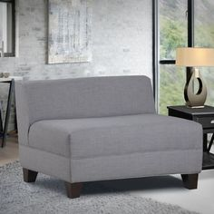 You'll love the Bond Armless Loveseat at Wayfair - Great Deals on all Education  products with Free Shipping on most stuff, even the big stuff.